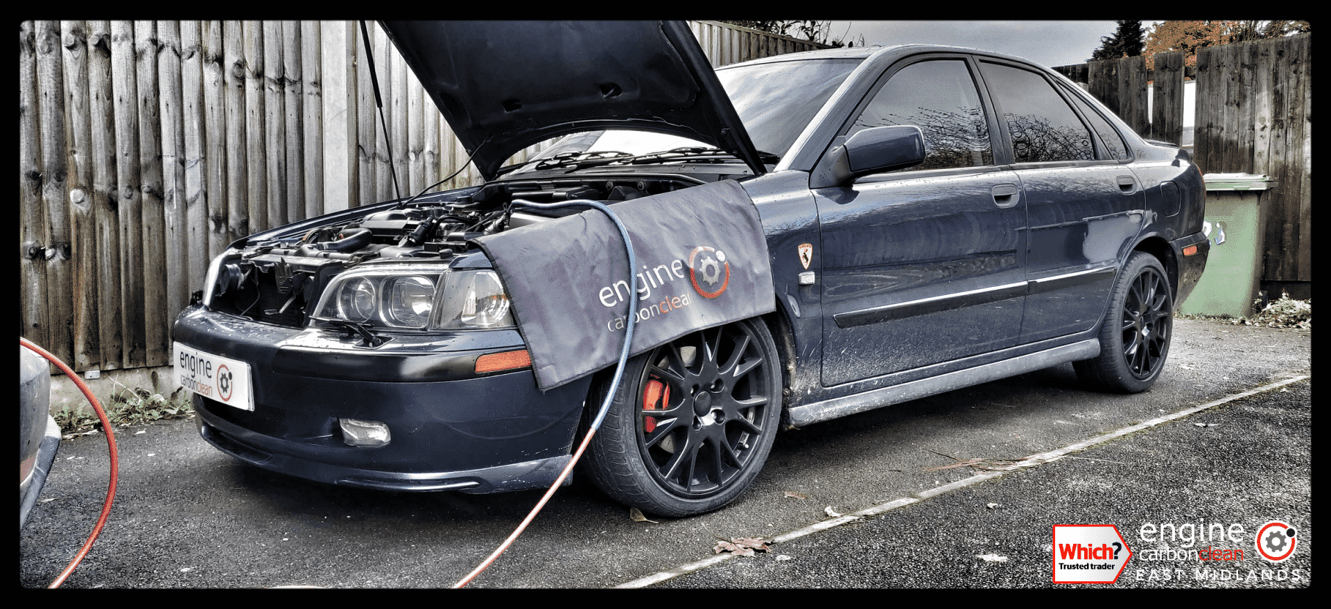 Diagnostic consultation and Engine Carbon Clean - Volvo S40 2.0 petrol (2004 - 156,239 miles)