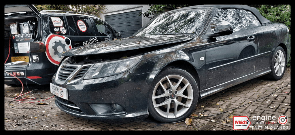 MOT Emissions Fail - diagnostic and Engine Carbon Clean - Saab 93 1.9 TDi (2009 - 128,628 miles)