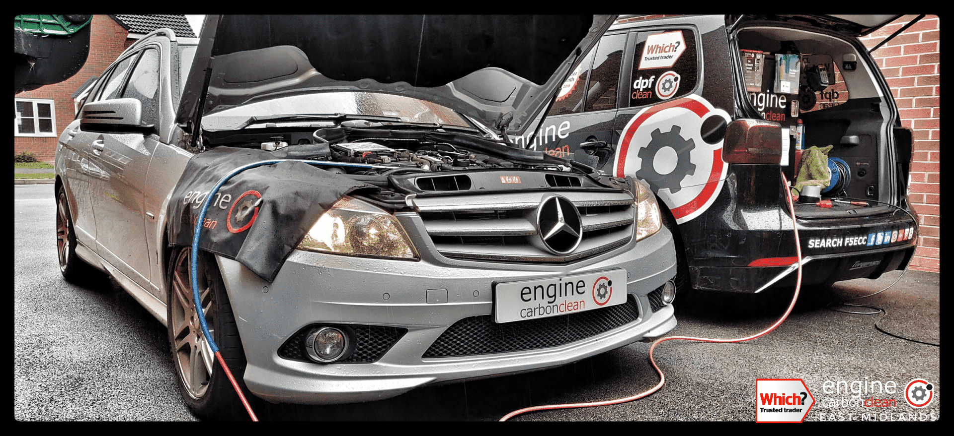 Just bought a vehicle? Diagnostic Consultation and Engine Carbon Clean - Mercedes C220 (2010 - 70,537 miles)