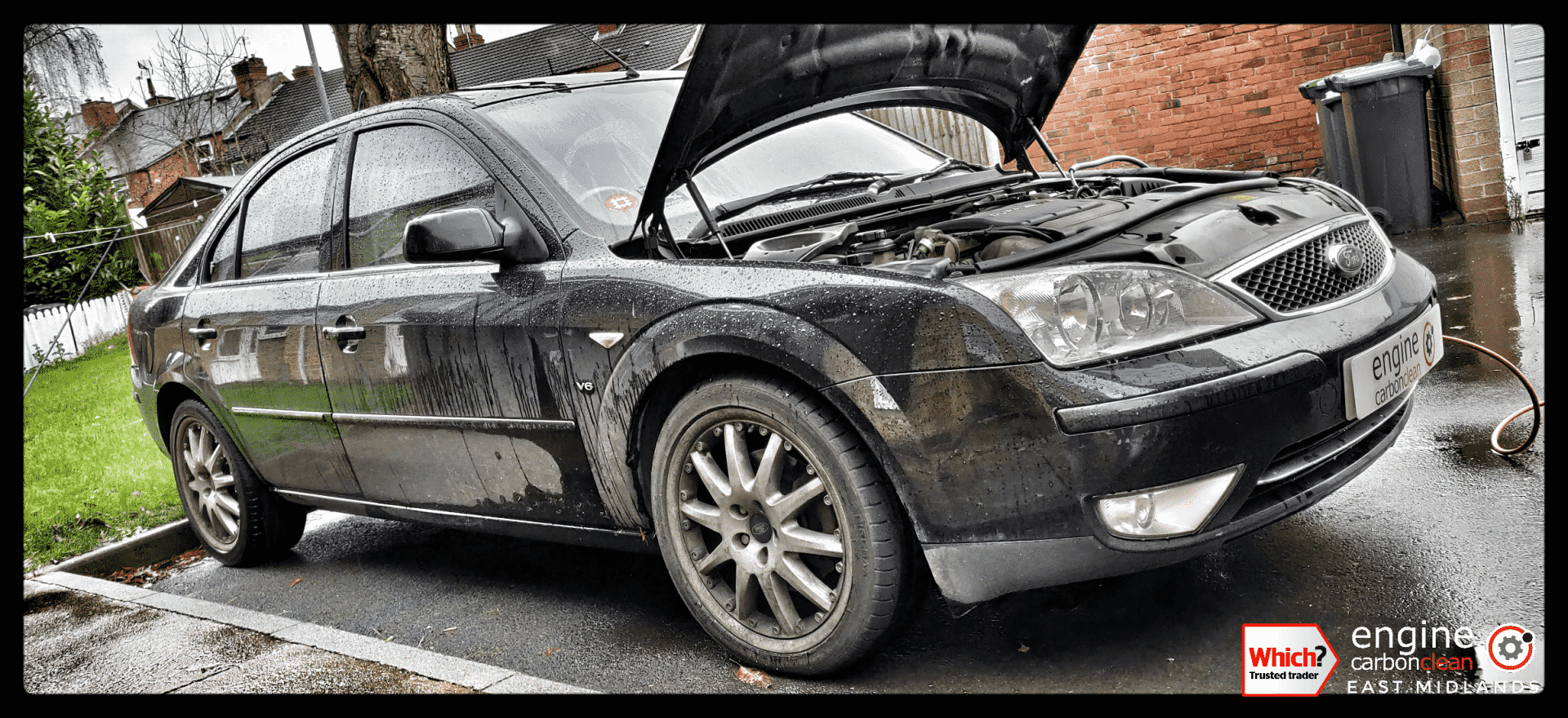 Diagnostic consultation and Engine Carbon Clean - Ford Mondeo 2.5 petrol (2004 - 137,669 miles)