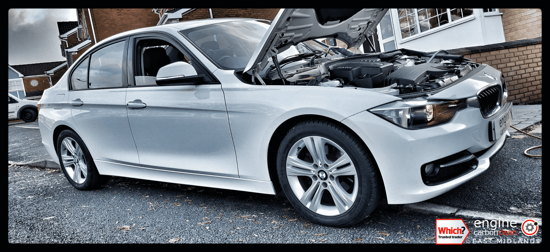 Diagnostic Consultation and Engine Carbon Clean on a BMW 320i petrol (2013 - 52,440 miles)