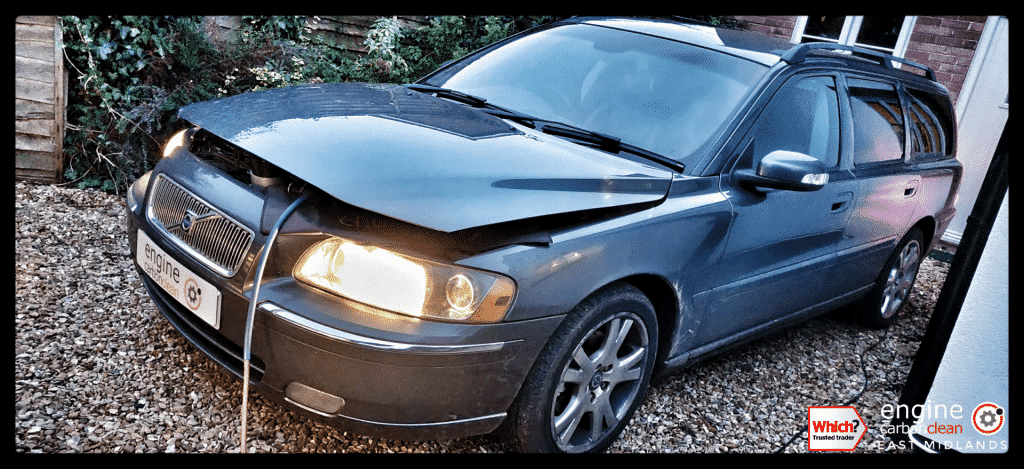 Diagnostic Consultation and Engine Carbon Clean - Volvo V70 D5 (2007 - 160,692 miles)