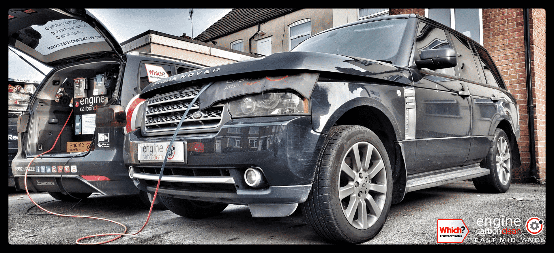 Diagnostic Consultation and Engine Carbon Clean - Range Rover Vogue 4.2 V8 (2006 - 118,936 miles)
