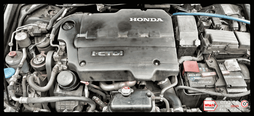 Diagnostic Consultation and Engine Carbon Clean - Honda Accord 2.2 diesel (2005 - 171,595 miles)