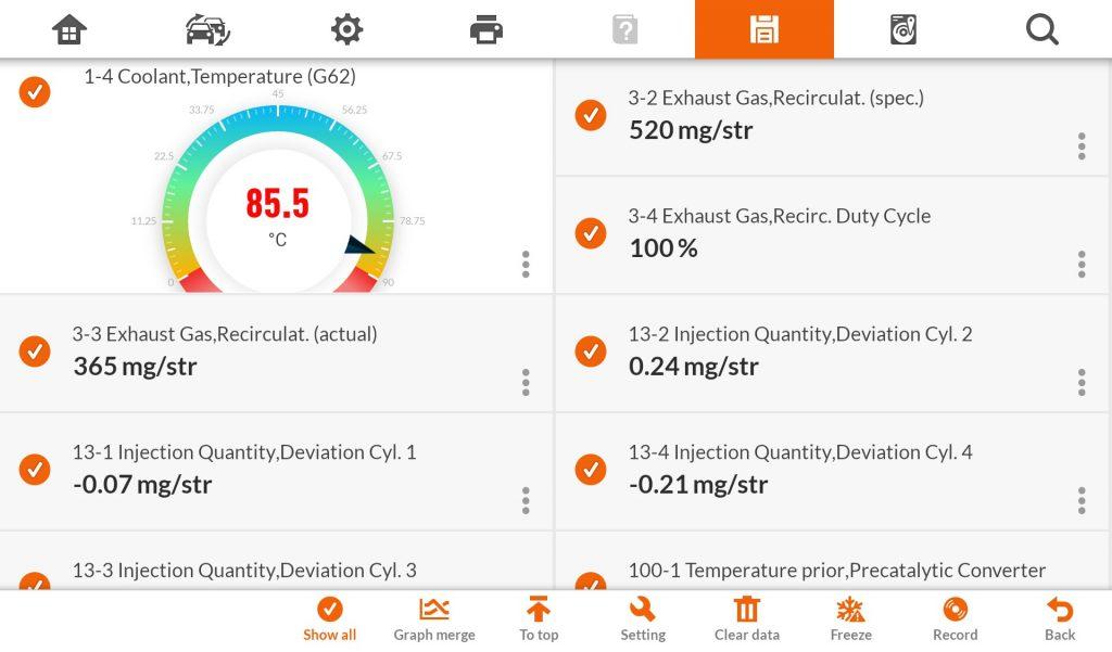 Diagnostic Consultation and Engine Carbon Clean - VW Passat CC 2.0 TDI (2010 - 79,404 miles)
