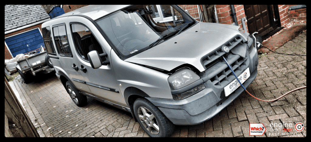 Diagnostic Consultation and Engine Carbon Clean - Fiat Doblo 1.9 JTD (2002 - 170,845 miles)