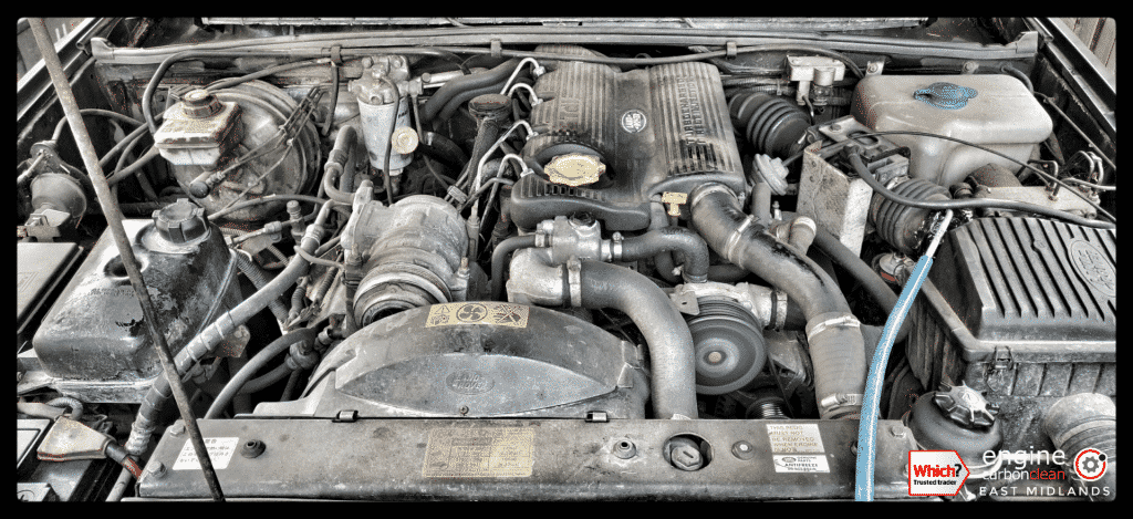 Diagnostic Consultation and Engine Carbon Clean - Land Rover Discovery 300TDI (1996 - 154,274 miles)