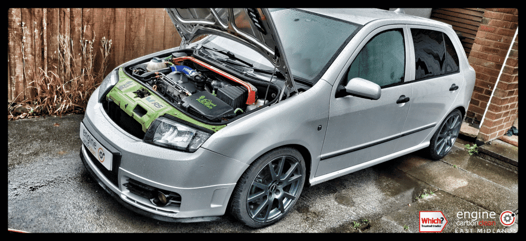 Diagnostic Consultation and Engine Carbon Clean - Skoda Fabia VRS 1.9 TDI (2004 - 135,167 miles)