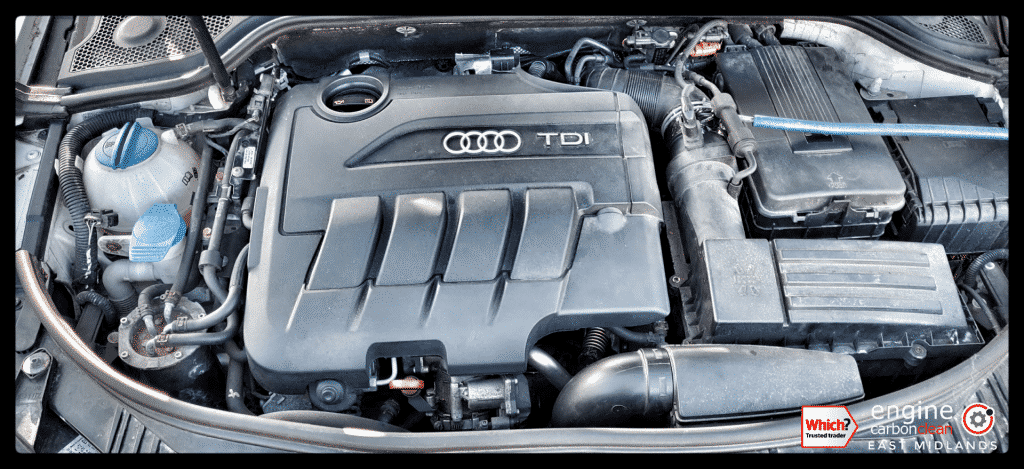 Engine Carbon Clean - Audi A3 2.0 TDI (2009 - 96,903 miles) - post DPF unblock