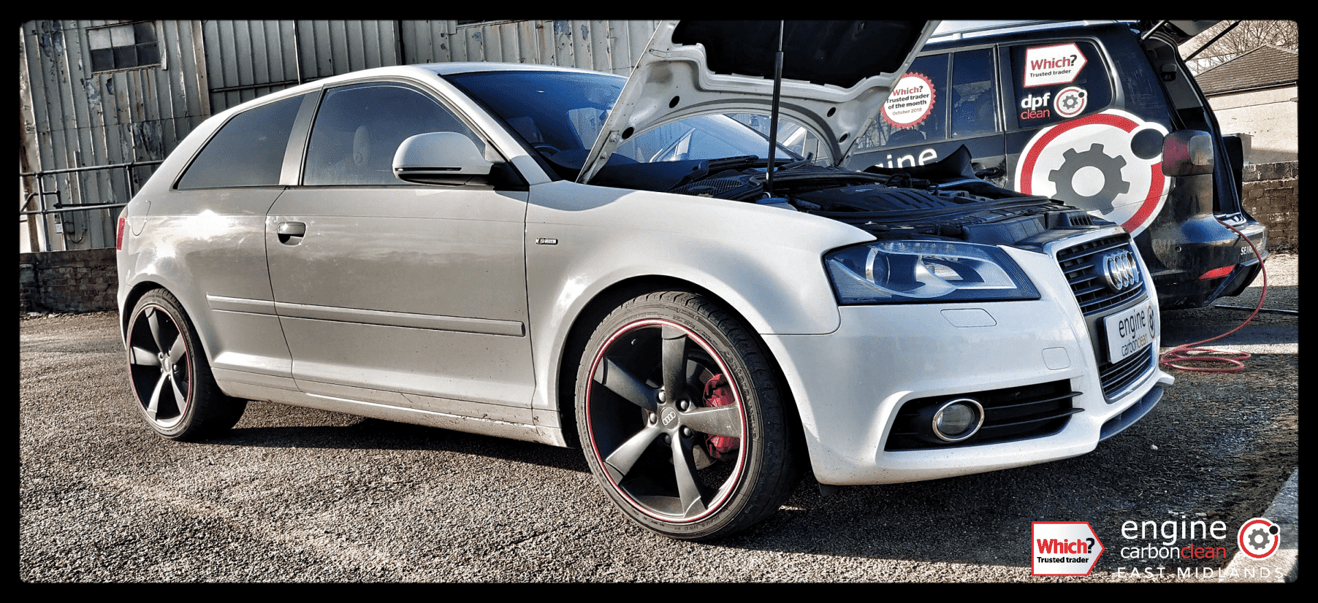 Engine Carbon Clean - Audi A3 2.0 TDI (2009 - 96,903 miles) - post DPF Clean