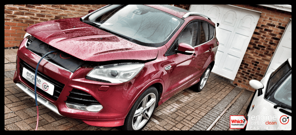 Diagnostic Consultation and Engine Carbon Clean on a Ford Kuga 2.0 TDCI (2016 - 36,621 miles)