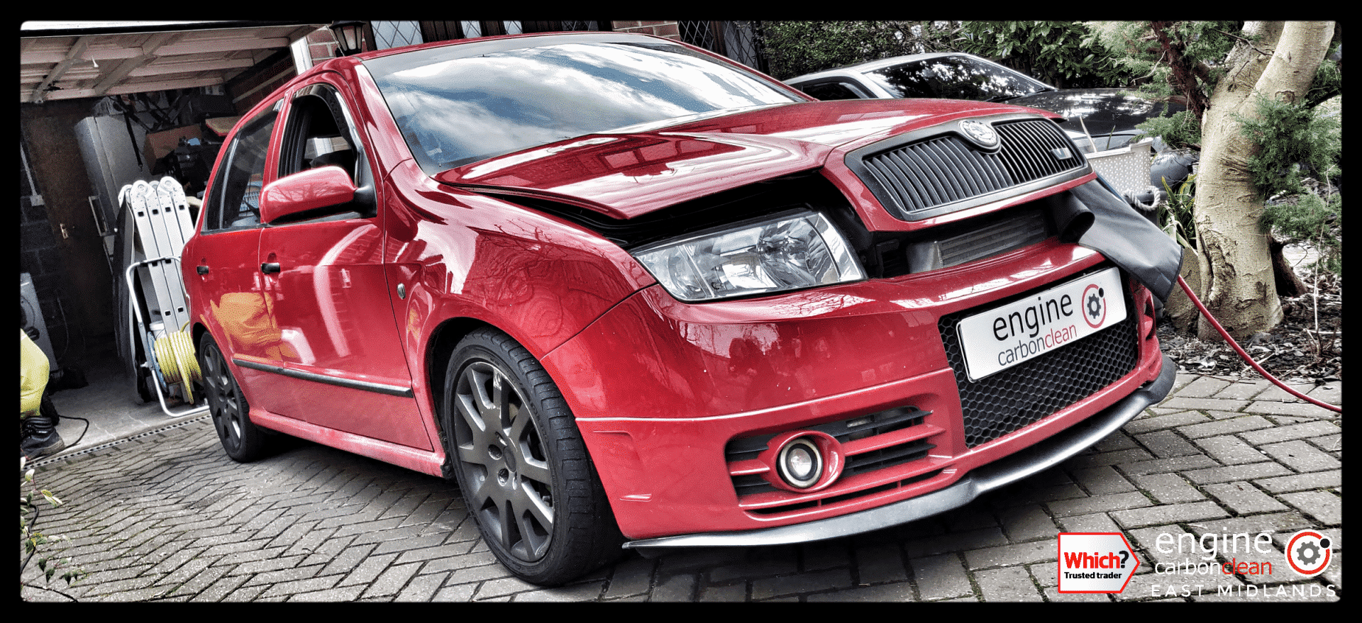Diagnostic Consultation and Engine Carbon Clean on a Skoda Fabia VRS 1.9 TDI (2006 - 104,890 miles)