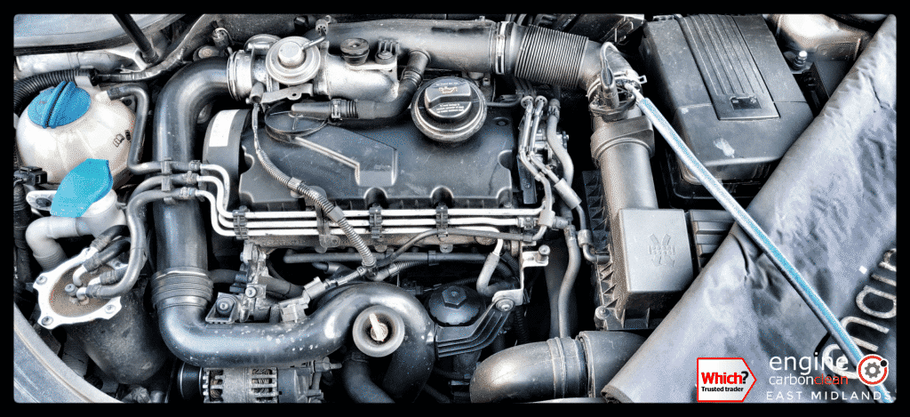 Diagnostic Consultation and Engine Carbon Clean on a VW Golf 1.9 TDI (2004 - 133,543 miles)