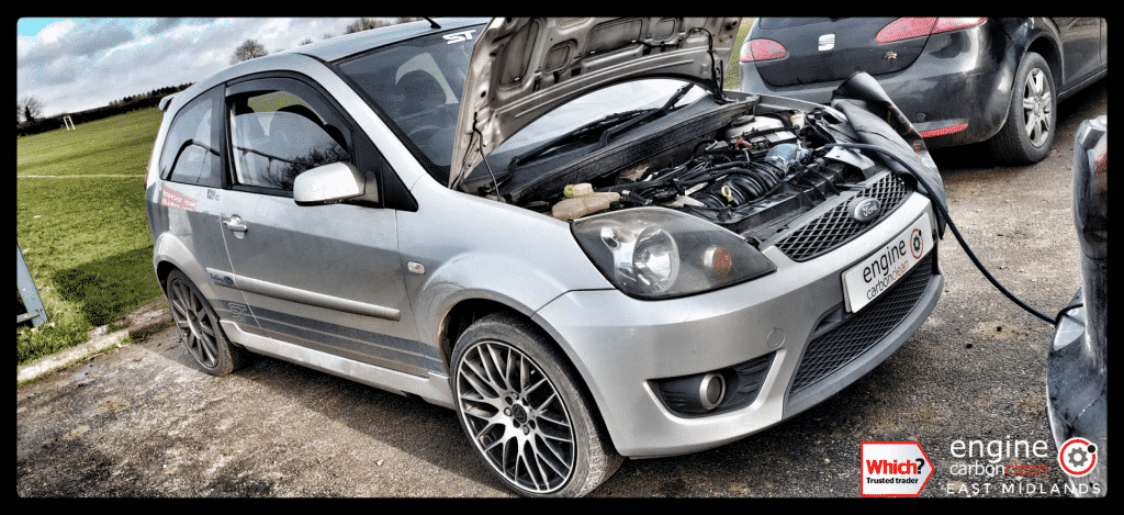 Diagnostic Consultation and Engine Carbon Clean on a Ford Fiesta ST 2.0 (2007 - 127,074 miles)