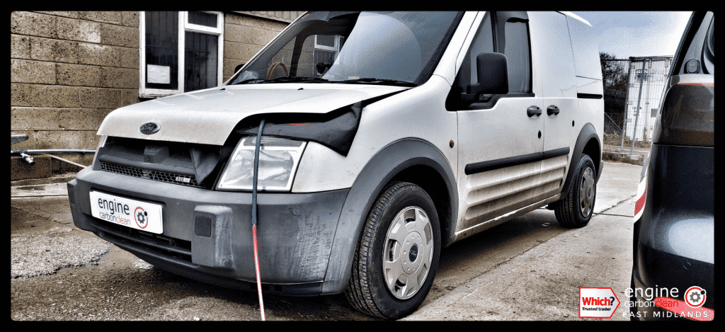 Diagnostic Consultation and Engine Carbon Clean on a Ford Transit 1.8 TDCi (2004 - 74,782 miles)