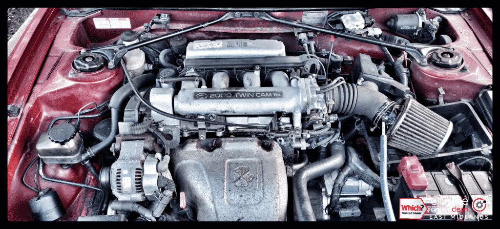 Engine Carbon Clean on an imported Toyota GT ST 202 (1995 - 86,947 miles)