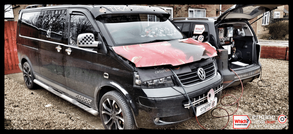 Diagnostic Consultation and Engine Carbon Clean on a VW Transporter 2.5 TDI (2005 - 269,542 miles)