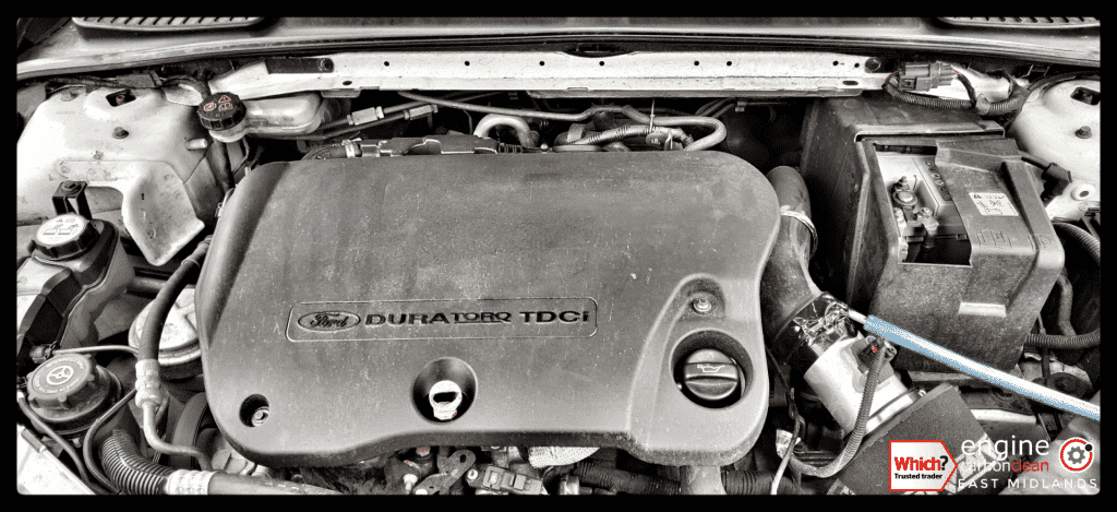 Diagnostic Consultation and Engine Carbon Clean on a Ford Mondeo 2.2 TDCi (2010 - 124,845 miles)