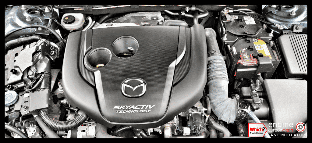Diagnostic Consultation and Engine Carbon Clean on a Mazda 6 2.2 diesel (2016 - 77,057 miles)