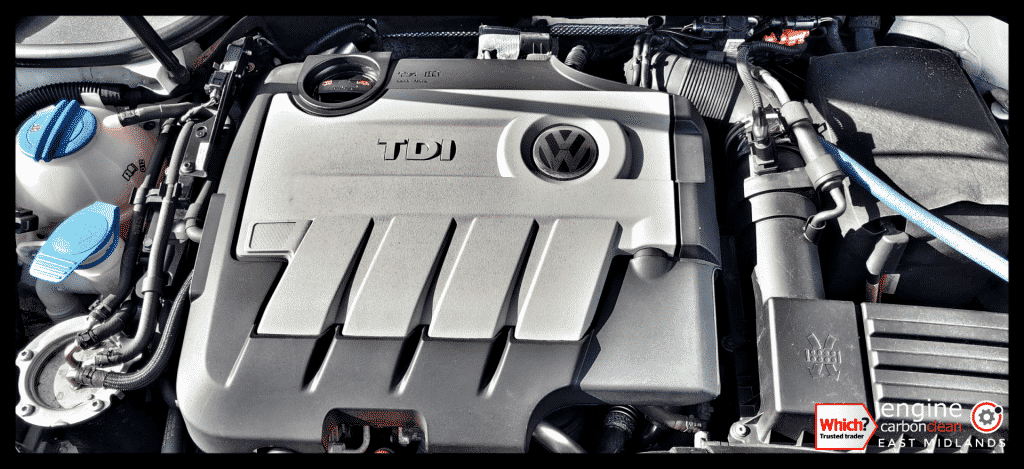 Diagnostic consultation and Engine Carbon Clean on a VW Golf 2.0 TDI (2010 - 109,778 miles)