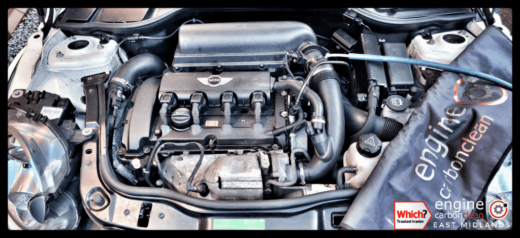 Diagnostic Consultation and Engine Carbon Clean on a JCW Mini 1.6 (2008 - 88,548 miles)