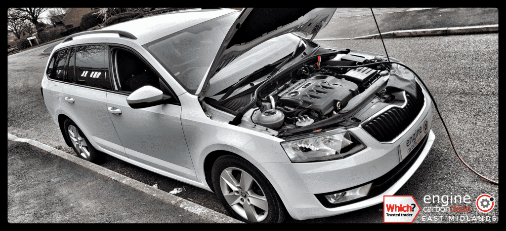 Diagnostic Consultation and Engine Carbon Clean on a Skoda Octavia 1.6 TDI (2016 - 75,482 miles)