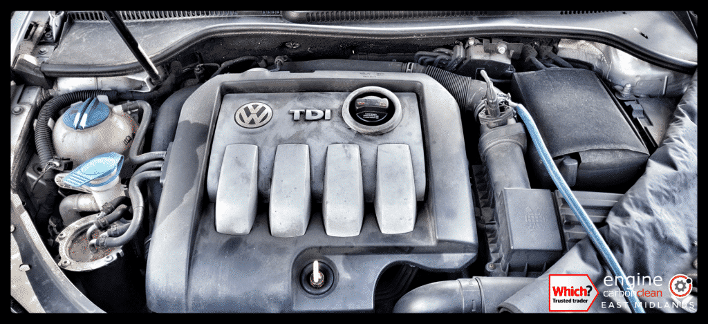 Diagnostic Consultation and Engine Carbon Clean on a VW Golf 1.9 TDI (2009 - 86,508 miles)