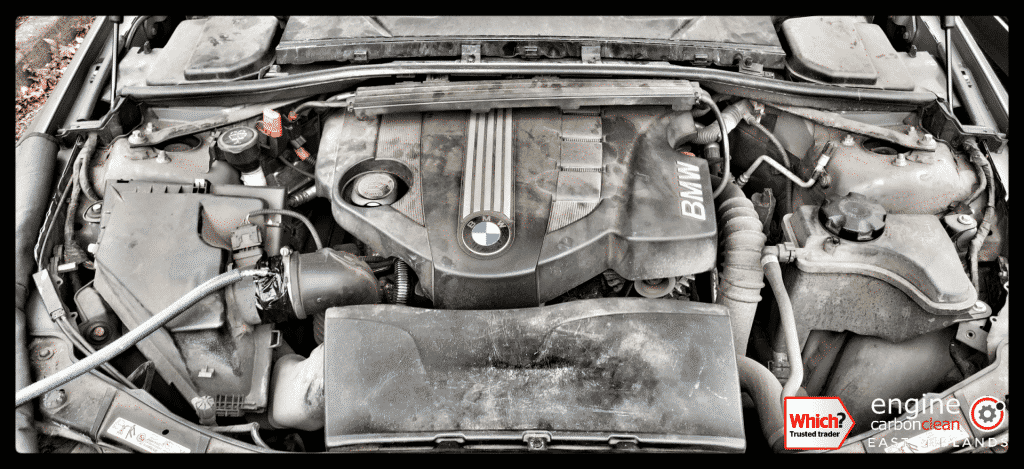 Diagnostic Consultation and Engine Carbon Clean on a BMW 320d (2009 - 210,250 miles)