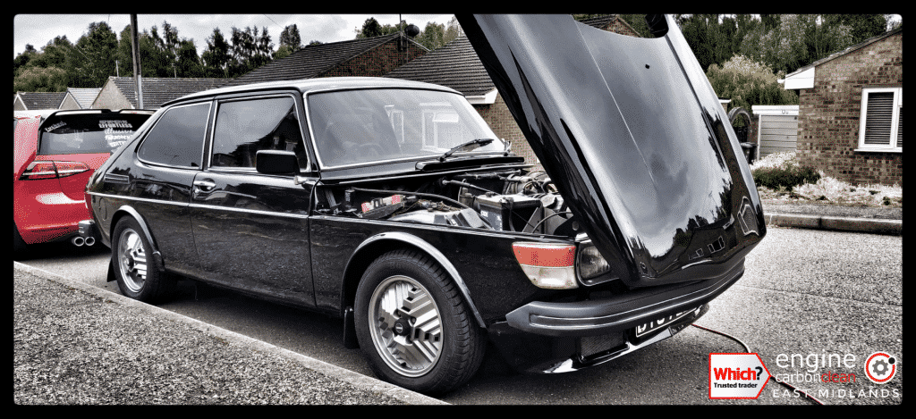 Engine Carbon Clean on a Saab 99 Turbo EMS (1972 - 96,858 miles)