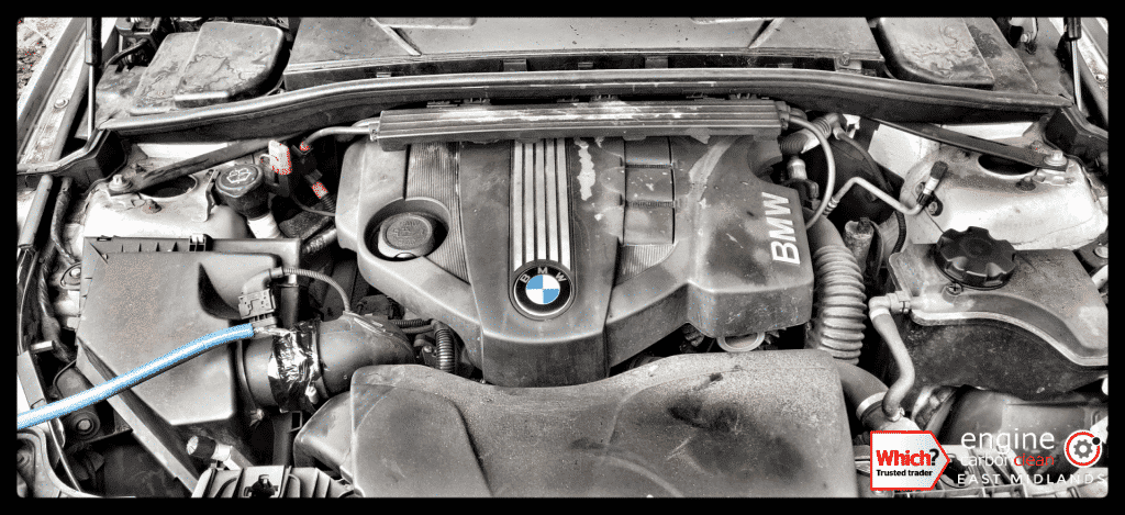 Diagnostic Consultation and Engine Carbon Clean on a BMW 120d (2009 - 107,857 miles) with EGR issues