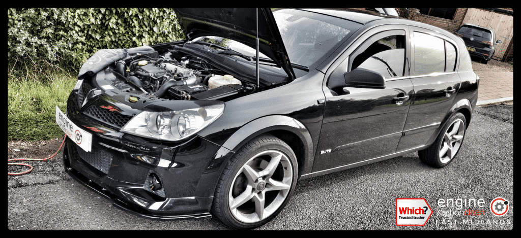 Diagnostic Consultation and Engine Carbon Clean on a Vauxhall Astra 1.9 CDTI (2008 - 129,953 miles)