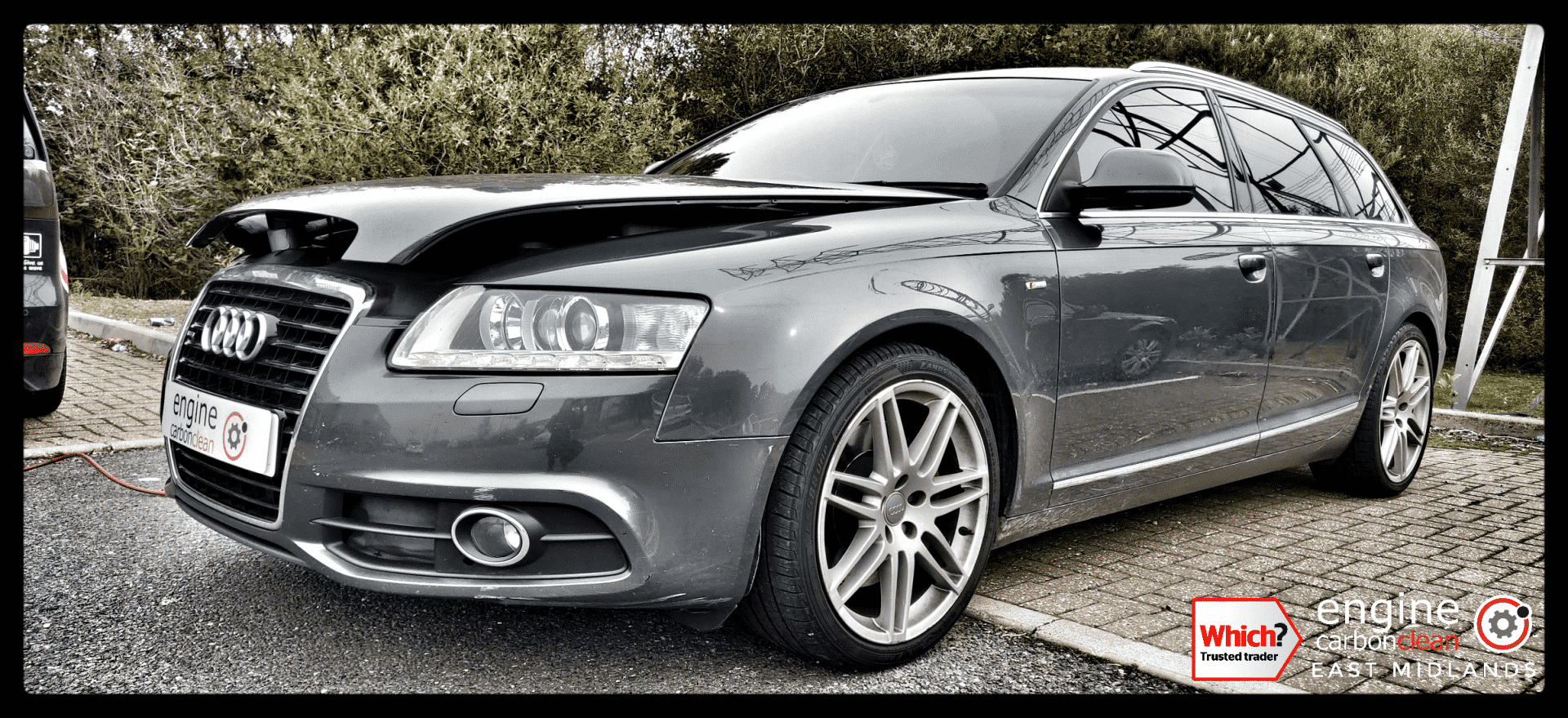 Diagnostic Consultation and Engine Carbon Clean on an Audi A6 3.0 TDI (2010 - 125,915 miles)