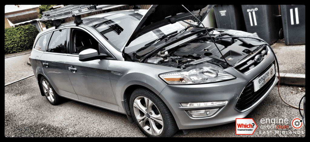 Diagnostic Consultation and Engine Carbon Clean on a Ford Mondeo 2.0 TDCi (2012 - 114,822 miles)