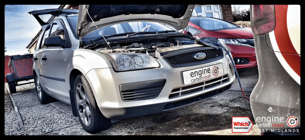 Diagnostic Consultation and Engine Carbon Clean on a Ford Focus 1.8 TDCi (2006 - 151,328 miles)