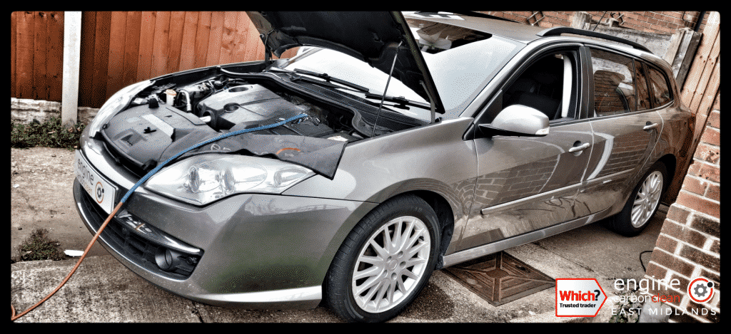 Diagnostic Consultation and Engine Carbon Clean on a Renault Laguna 1.5dci (2009 - 170,435 miles)