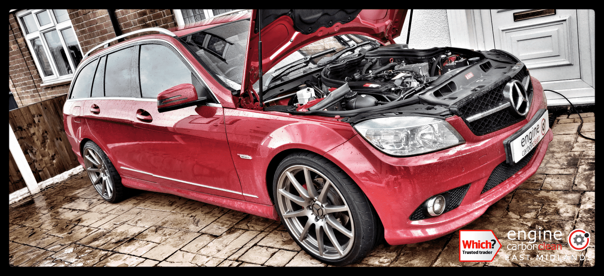 Diagnostic Consultation on a Mercedes C220 with an injector leak (2009 - 115,334 miles) - NO CLEAN