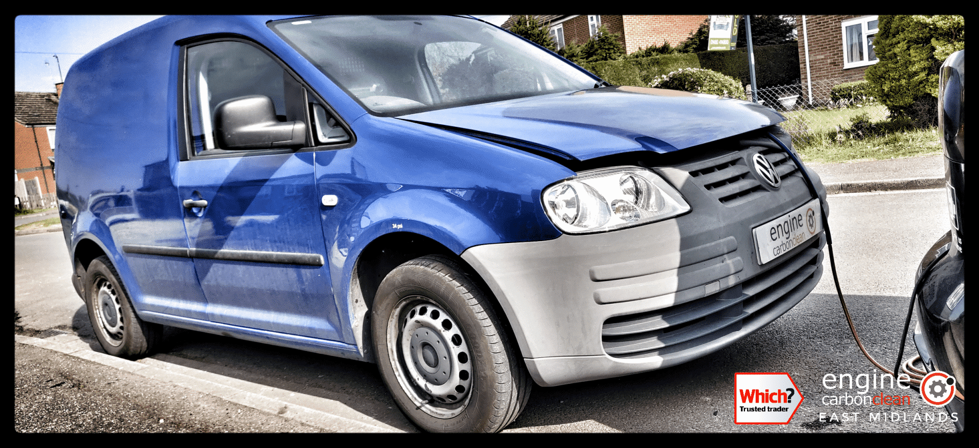 Diagnostic Consultation and Engine Carbon Clean on a VW Caddy 2.0 SDI (2007 - 95,208 miles)