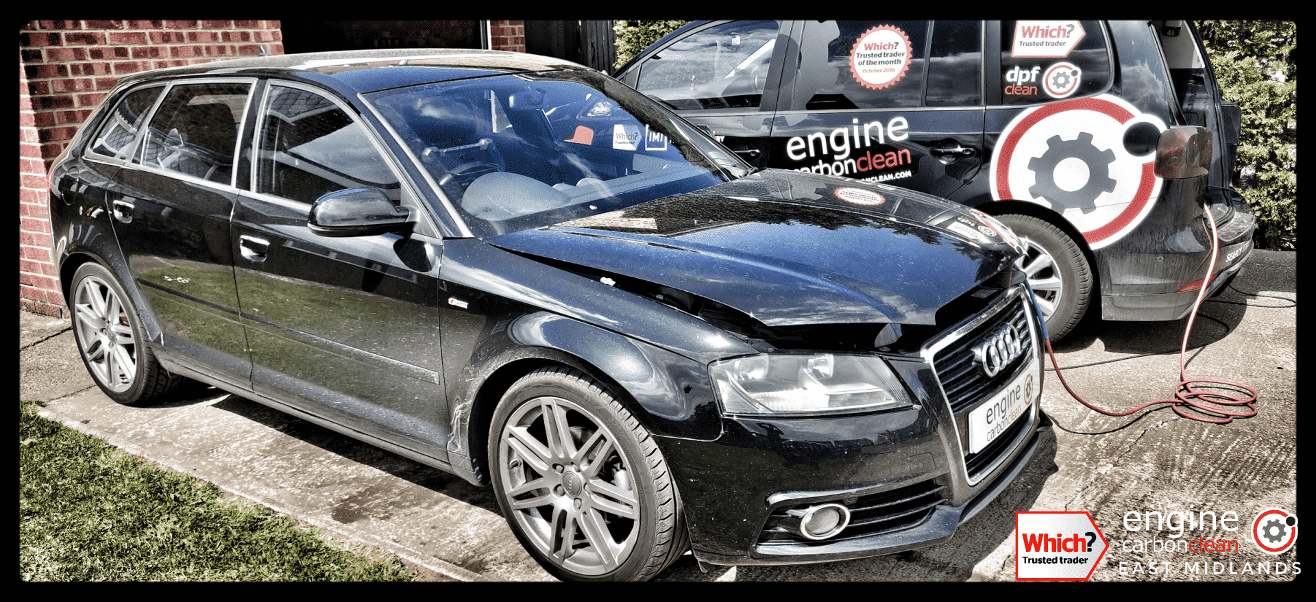 Diagnostic Consultation and Engine Carbon Clean on an Audi A3 1.6 TDI (2012 - 144,854 miles)