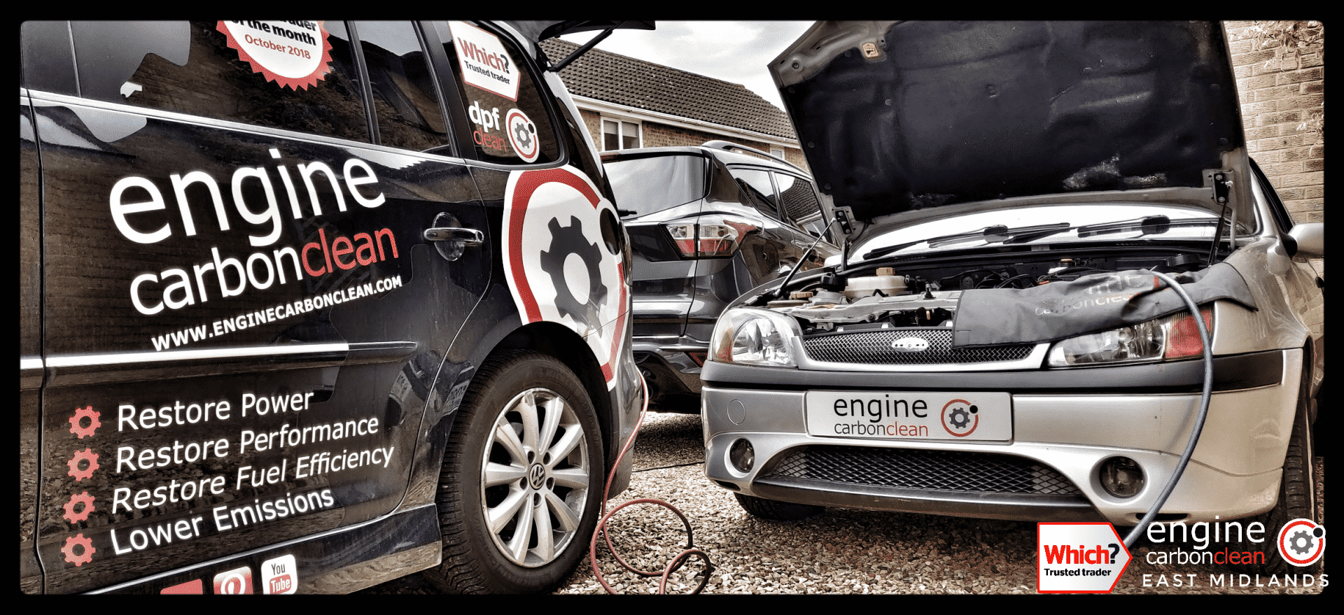 Diagnostic Consultation and Engine Carbon Clean on a Ford Fiesta 1.6 (2002 - 56,256 miles)