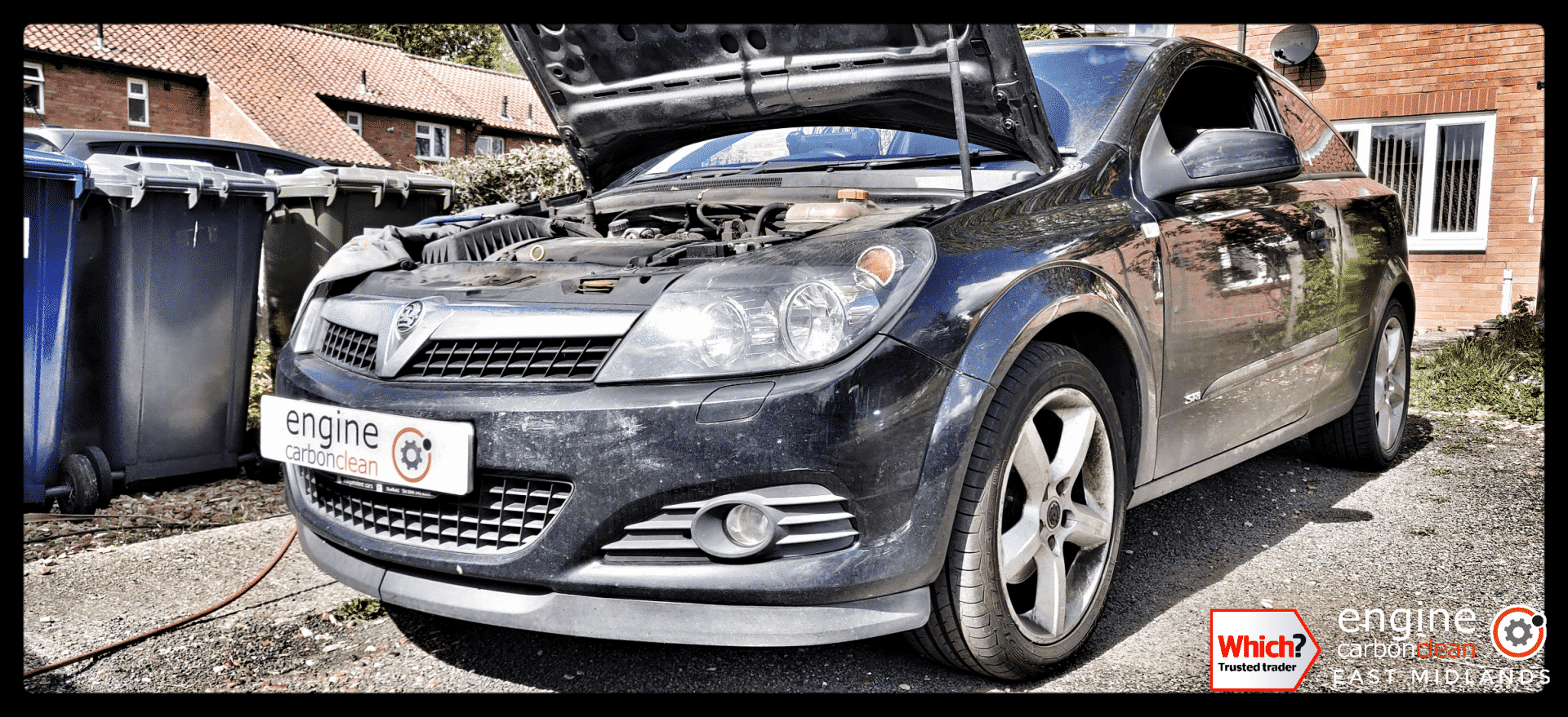 Diagnostic Consultation and Engine Carbon Clean on a Vauxhall Astra 1.8 petrol (2009 - 99,800 miles)
