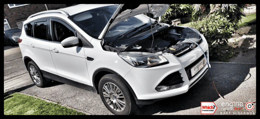 Diagnostic Consultation and Engine Carbon Clean on a Ford Kuga 2.0 TDCI (2014 - 67,490 miles)