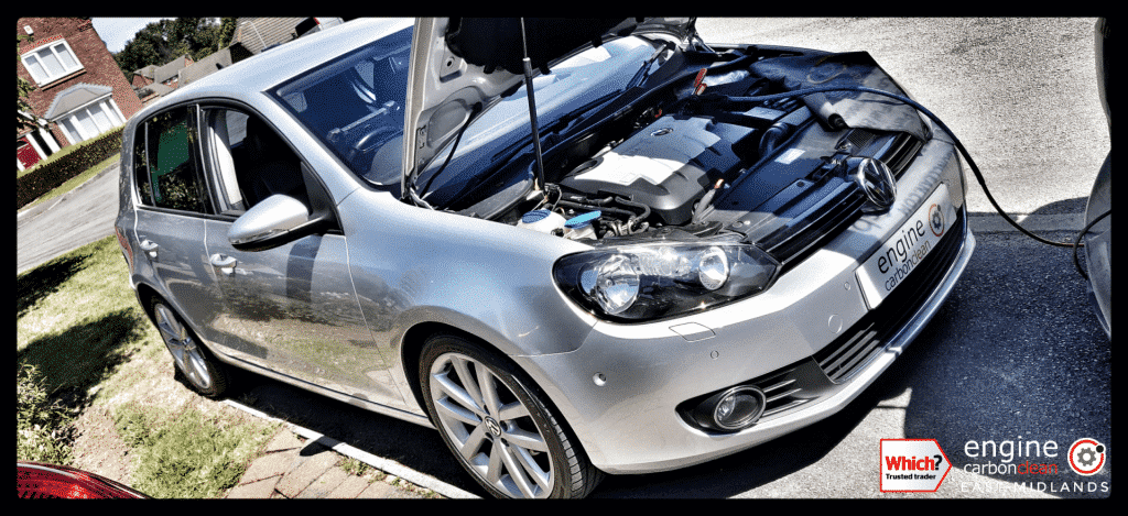 Diagnostic Consultation and Engine Carbon Clean on a VW Golf 2.0 TDI (2010 - 94,059 miles)