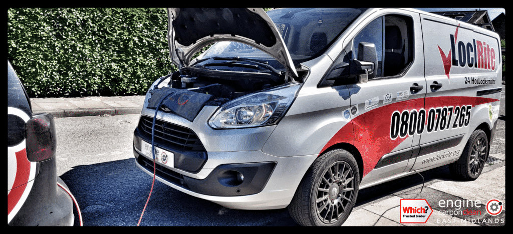 Diagnostic Consultation and Engine Carbon Clean on a Ford Transit 2.2 TDCi (2014 - 175,245 miles)