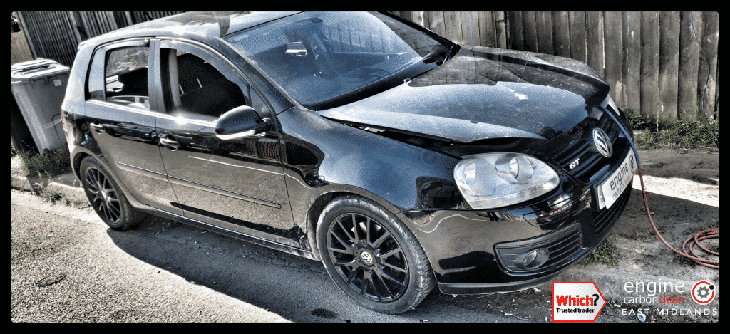 Diagnostic Consultation and Engine Carbon Clean on a VW Golf 2.0 TDI (2007 - 142,029 miles)