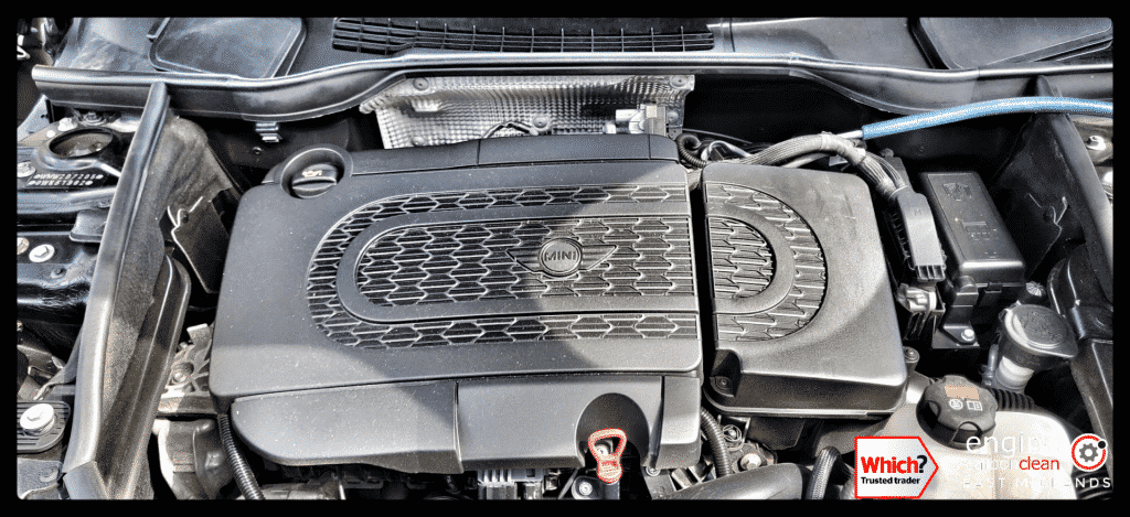 Diagnostic Consultation and Engine Carbon Clean on a Mini Cooper SD (2014 - 73,760 miles)