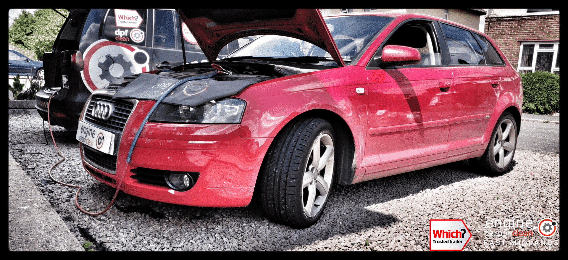 Diagnostic Consultation and Engine Carbon Clean on an Audi A3 1.9 TDI (2007 - 157,821 miles)