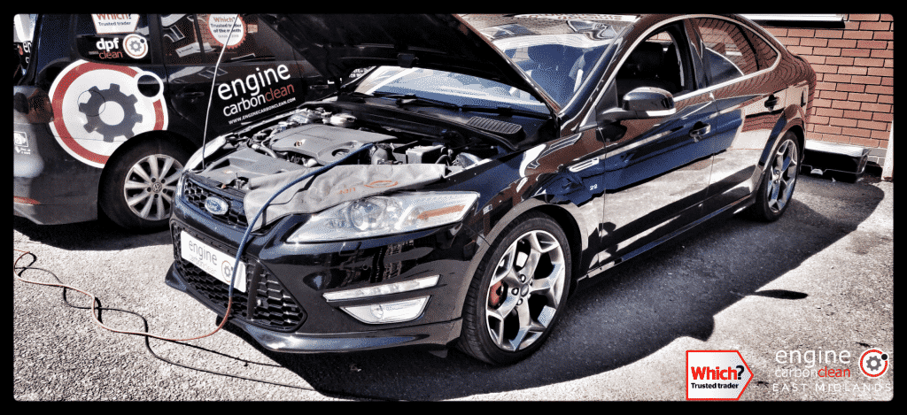 Diagnostic Consultation and Engine Carbon Clean on a Ford Mondeo 2.2 TDCi (2011 - 126,300 miles)