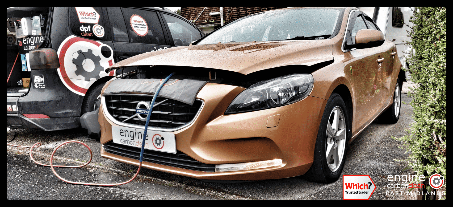 Turbo sensor issues discovered on this Volvo V40 D3 just prior to a remap (2012 - 118,914 miles)
