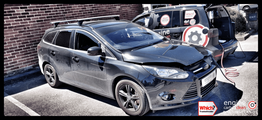 Diagnostic Consultation and Engine Carbon Clean on a Ford Focus 1.6 TDCI (2011 - 178,148 miles)