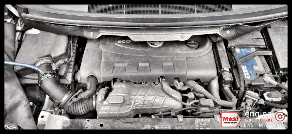 Diagnostic Consultation and Engine Carbon Clean on a Vauxhall Zafira 2.0 CDTI (2013 - 71,016 miles)